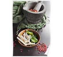 Thai Food Ingredients Poster
