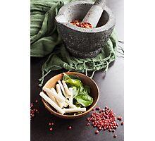 Thai Food Ingredients Photographic Print
