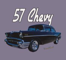 57 Chevy T-Shirt by ChasSinklier