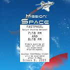 Mission Space Fastpass by Margybear