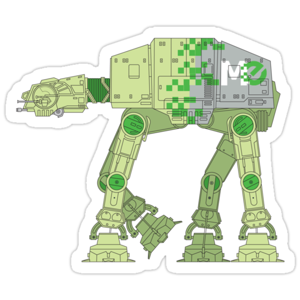 MemoryExpress AT-AT by SevenHundred