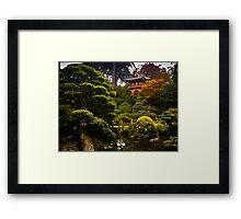 Japanese Garden San Francisco Framed Print