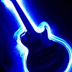 Electric Light Guitar by Mike Warrilow