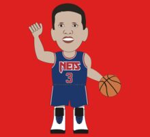 NBAToon of Drazen Petrovic, player of New Jersey Nets by D4RK0