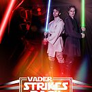 Vader Stikes Back - Stunt People poster by Topher Adam by TopherAdam