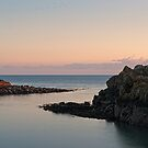 Sunset, Portpatrick Harbour  by PigleT