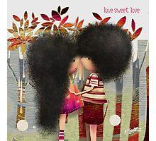 love sweet love Photographic Print