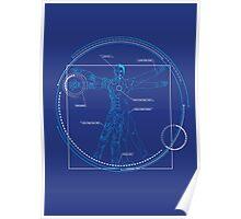 Vitruvian Playboy Poster