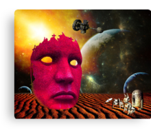 Pondering the Artifact Canvas Print
