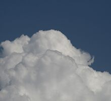 Lovely whipping cream clouds by Katie Grove-Velasquez