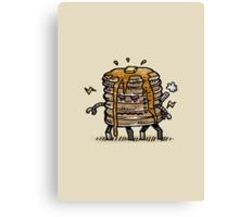 Pancake Bot Canvas Print