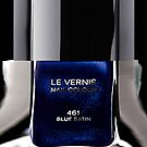 Blue Satin nail polish photograph apple iphone 5, iphone 4 4s, iPhone 3Gs, iPod Touch 4g case by Pointsalestore .com