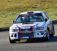 Subaru Impreza No 8 by Willie Jackson