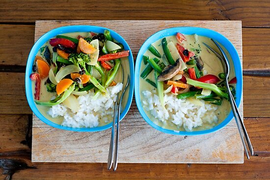 Green Curry. by Kathy Behrendt