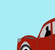 Driving to Paris Sticker