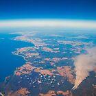 Tasmanian Aerial. by Kathy Behrendt