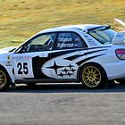 Subaru Impreza No 25 by Willie Jackson