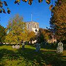 St Mary&#x27;s Church Kintbury Berkshire by mlphoto