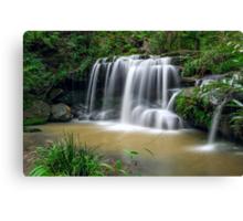 Sydney waterfalls - Hunts Creek #1 Canvas Print