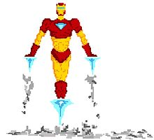 The Iron Man by Midgetcorrupter