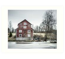 Old Mill 2 Art Print