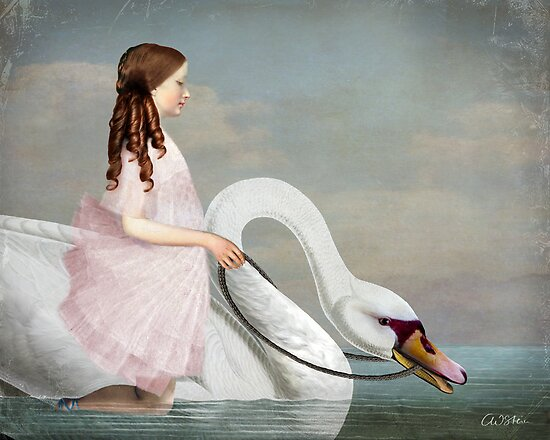 Ride a White Swan by Catrin Welz-Stein