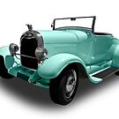 Ford - 1929 Sedan Convertable by axemangraphics