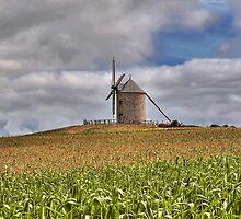 Le Moulin de Moidrey - Windmill of Moidrey by paolo1955