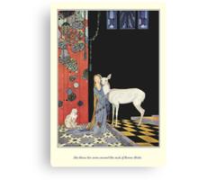Old French Fairy Tales: Bonne-Biche Canvas Print