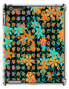 Digital Flower Pattern by RosiLorz