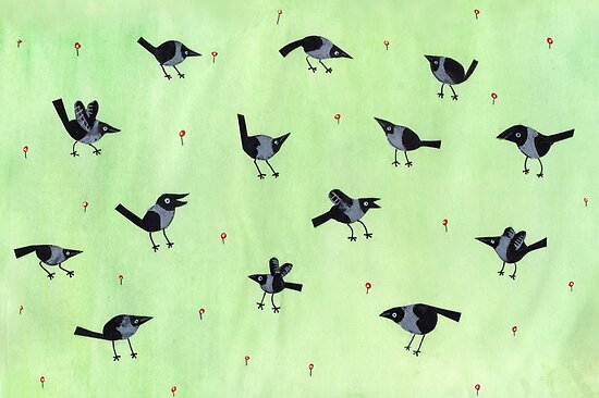 Magpies by Sophie Corrigan