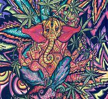 Elephant Buddha by biancababee