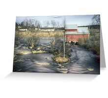 Old Mill 4 Greeting Card