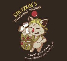 Stiltzkin's Travelling Bazaar by Lucy Blundell