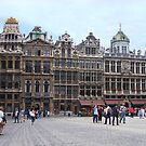 Brussels Town Square by PollyBrown
