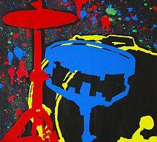 Drums Set by Preston Stegall