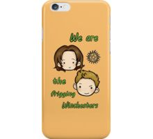 We are the frigging Winchesters iPhone Case/Skin