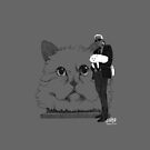 Karl and Choupette -  Iphone cases by gaarte