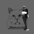 Karl and Choupette - Ipad cases by gaarte