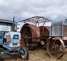 Old Farm Machinery by Deborah McGrath