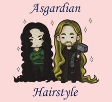 Asgardian Hairstyle  by hellredsky