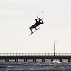 Kite Surf Session in St Kilda by nicomelbourne
