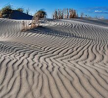 Shapes and patterns in the sand CHALLENGE by Adri  Padmos