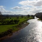 River Towy by Gordondon
