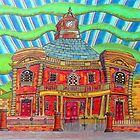 380 - PLAS MWYNWYR, RHOS - DAVE EDWARDS - COLOURED PENCILS - 2013 by BLYTHART