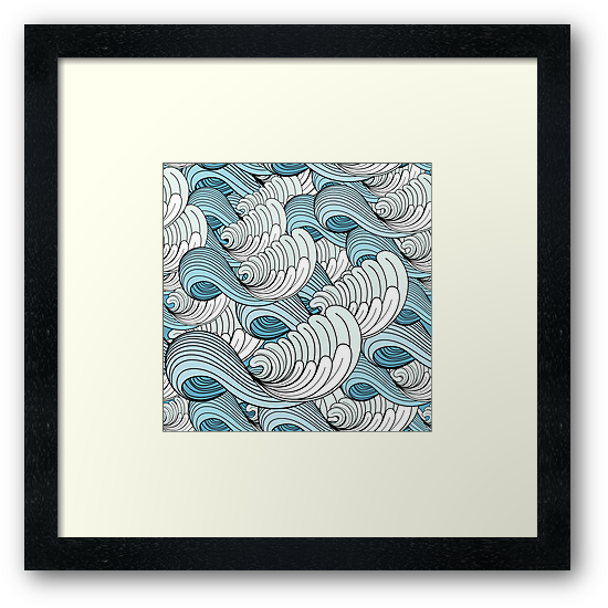sea ​​waves by Tanor