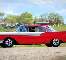 Prom Chariot...57 Ford Fairlane 500 by trueblvr