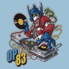 DJ PRIME by KERZILLA