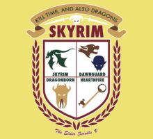 Skyrim Coat-Of-Arms Kids Clothes