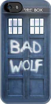 Tardis Bad Wolf Case iPhone & iPod Cases